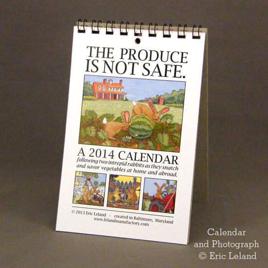 2014 Calendar Cover Photo