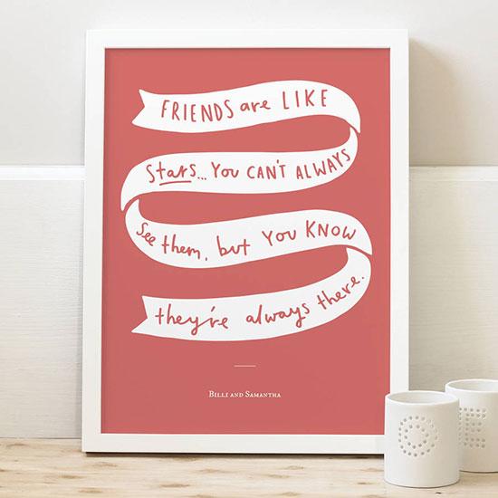 original_friends-are-like-stars-print