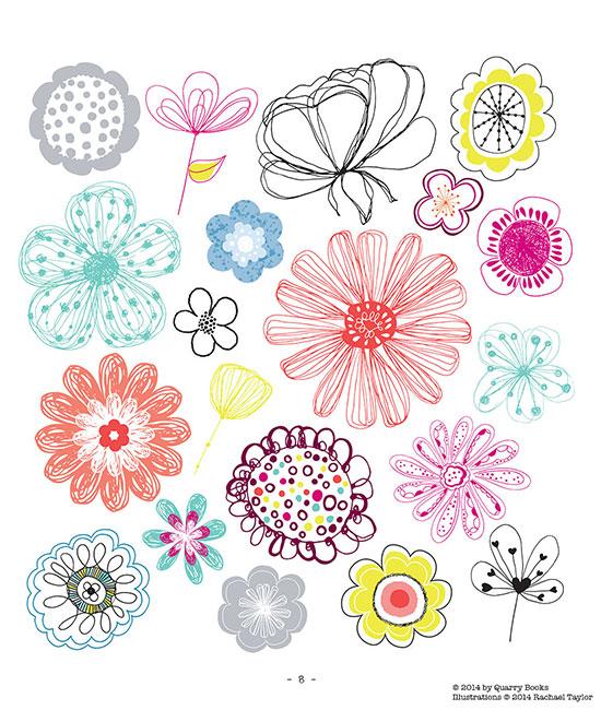 Little Flower Doodles
