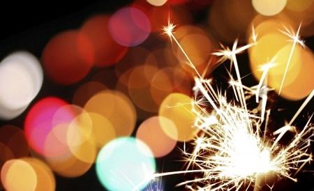 bonfire night sparklers