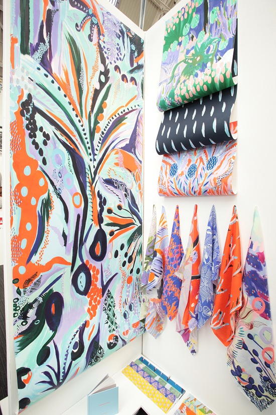 Own designs hanging