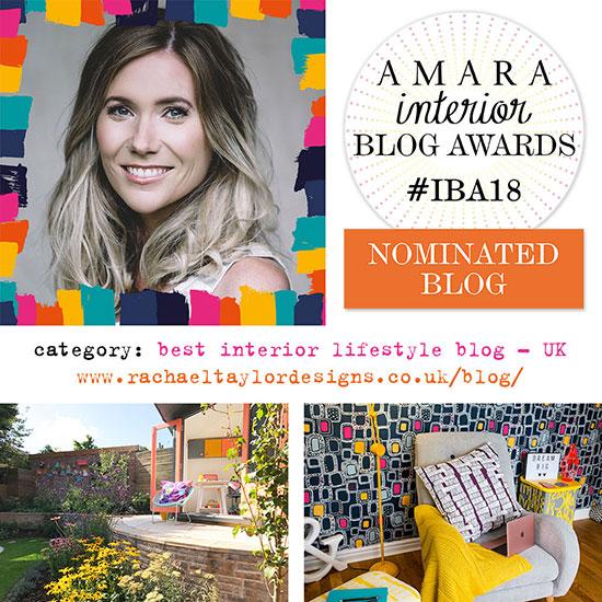 Iba 2018 best interior lifestyle blog nominee rachael for Best interior blog