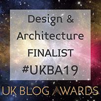 UK Blog Awards 2019 finalist!